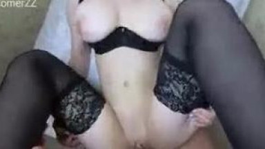 BIG TITS TEEN GETS FUCKED IN TIGHT ASS AND WET PUSSY
