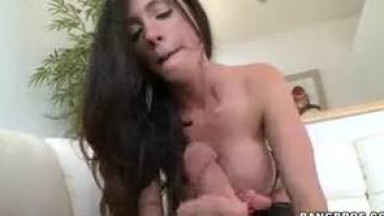 Stunning Brunette MILF with a Hairy Pussy
