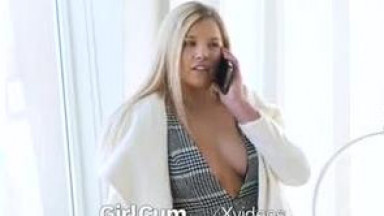 GIRLCUM Multiple Orgasms For Horny Open House Staging Agent