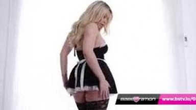 British big tits blonde Penny Lee hot french made strip