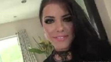 Bitchy Adriana wants Roccos dirty cock inside her pounding and throbbing
